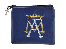Ave Maria Embroidered Rosary Case (YC317)