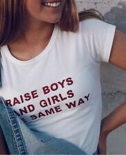 Sold Out! Brand Melville White Crop Mason raise boys  girls the same way Top S/M
