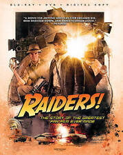 DVD: Raiders! The Story of the Greatest Fan Film Ever Made [Blu-Ray + DVD + Digi