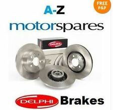 FOR FORD GALAXY ALL MODELS 06-10 REAR BRAKE DISCS SET + ELECTRIC DISC PADS KIT