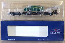 LILIPUT L235753 DB FLACHWAGEN WAGON & VERLAG ULLSTEIN LORRY LOAD 886-2 Ep IV ng
