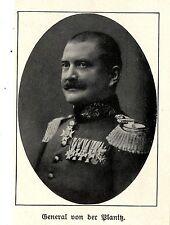 General von Planitz *  WW1