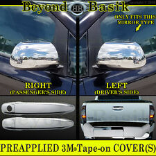 2012 2013 2014 2015 TOYOTA TACOMA Chrome Door Handle 1KH Mirror Tailgate COVERS