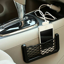 2 x Car Truck Van Net Storage Bag Mesh String Pocket Phone Holder Organizer