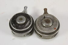 Lot of 2 Vintage Automatic Fly Fishing Reels Paradise Wolverine 1695 Model D