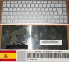 Clavier Qwerty Espagnol SONY VAIO VPC-S AEGD3P00040 9Z.N3VSQ.60S 148779051 Blanc