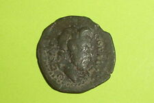 RARE Ancient ROMAN COIN zeus ammon COMMODUS 166-192 AD CASSANDREA MACEDONIA old