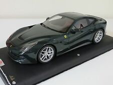 1/18 MR Collection Ferrari F12 Berlinetta British Racing Green Leather 99 pcs