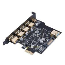PCI-E to USB 3.1 type-c 4 Port PCI Express Expansion Card 19-Pin Power 5Gbps