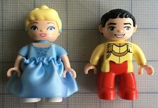 Lego Disney DUPLO PARTS 2 Figures Princess Cinderella & Prince Charming
