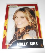 PopCardz Costume Trading Card #12 Molly Sims (V.4)