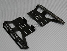 Axial SCX10 II SKIDS PLATES Left + Right    BLACK