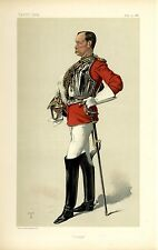 BRITISH ARMY OFFICER COLONEL HENRY EWART WITH SWORD EDUCATED AT ETON AND OXFORD