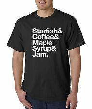 New Way 457 - Unisex T-Shirt Starfish Coffee Maple Syrup Jam