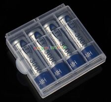 4x AA 3000mAh Ni-Mh BTY Rechargeable Battery Cell for MP3 RC Toy +1 x Case USA