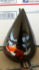 Vietnamese Lacquer thanh le jewelry goldfish bowl