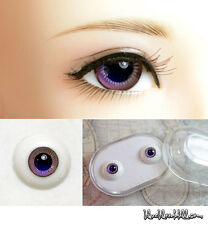 1/3 1/4 1/6 bjd 12mm purple glass doll eyes with box super dollfie #EB-18