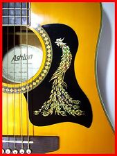 ACOUSTIC GUITAR PICKGUARD / SCRATCHPLATE SELF-ADHESIVE GOLD PHOENIX DESIGN