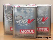 13,95€/l Motul 300V High RPM  0W-20  3 x 2 Ltr