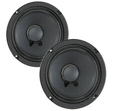 "Pair Eminence Alpha-6A 6"" Midrange 8ohm 200Watt 93.6dB 1.5""Coil Replacement"