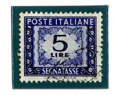 ITALIA REP. - Segnatasse - 1955 - Filigrana stelle. Tinte di stampa: diverse ton