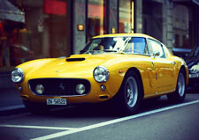 1959 FERRARI 250GT BERLINETTA NEW A1 CANVAS GICLEE ART PRINT POSTER