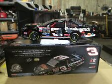 DALE EARNHARDT SR #3 CUSTOM BUILT 1998 CRASH  CAR VERSION 1/24 DAYTONA WIN COT!