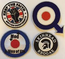 Iron On Patch Mod Northern Soul Scooter Trojan - Wholesale Job Lot Bulk Starter