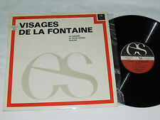 VISAGE DE LA FONTAINE Les Comediens Du Theatre National Populaire LP LAE-3309