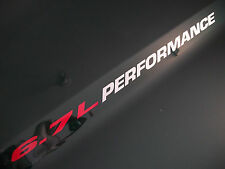 6.7L PERFORMANCE (pair) Hood vinyl sticker decals emblem Dodge Ram Fits Cummins
