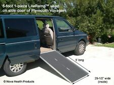 5' Wheelchair Ramp | Scooter Ramp | LiteRamp Portable Handicap Ramps