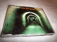 SHED SEVEN-WHERE HAVE YOU BEEN TONIGHT-3 TRACKS-POLYDOR YORCD5 UK MINT CD