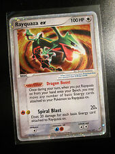 NM Pokemon RAYQUAZA EX Card DEOXYS Set 102/107 Ultra Rare Holo TCG 100 HP