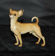 "RARE Vintage Hutschenreuther Porcelain Dog Figurine - Chihuahua - 4""H- Excellent"