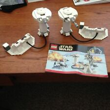 2 X RARE Star Wars LEGO 7749 Echo Bases HOTH ION Cannons Turrets Christmas 2017