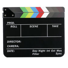Neewer dry Erase Director's Film Clapboard Cut Action Scene Clapper Board Slate