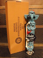 PBR ART ~ Pabst Blue Ribbon ~ Totem Pole ~ NEW in Box ~ Beer Tap Handle