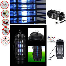 LED Electronic Mosquito Killer Lamp Light Insect Zapper Bug Fly Pest Control USA