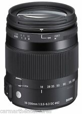 Sigma 18-200mm F/3.5-6.3 DC 'C' Macro OS HSM Lens for Canon NEW Contemporary