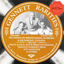 Gennett Rarities by Various Artists (CD, Aug-1998, Jazz Oracle)