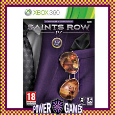 Saints Row IV 4 Commander in Chief Edition (Microsoft Xbox 360) Brand New