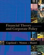 Financial Theory and Corporate Policy by Kuldeep Shastri, J. Fred Weston and...
