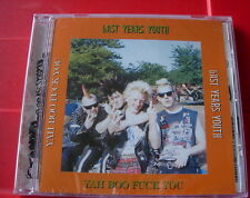 Last Years Youth Yah Boo F*ck You CD NEW SEALED 1997 Punk Oi! Skinhead