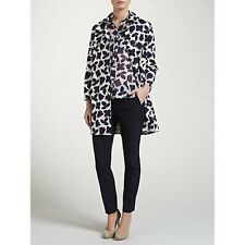 MARELLA  ( MAX MARA )FERVIDA FLORAL NAVY/WHITE COAT NEW SIZE 10 WAS £279