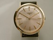 LONGINES GENTS 10K GOLD FILLED HAND WIND CLASSIC LOOK