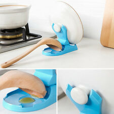 Foldable Pot Pan Spoon Lid Storage Stand Holder Rack Utensil Cooking Tool