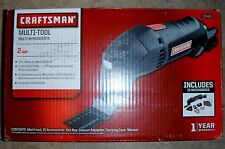 NEW CRAFTSMAN 2 AMP COMPACT A/C MULTI TOOL SANDS GRIND CUTS 15 ACCESSORIES 23465