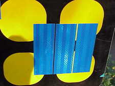 "3M High Intensity prismatic reflective tape 4 strips 2"" x 6"""