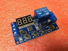 12V LED Digital Display Adjustable Multifunction Delay Relay Module Timer