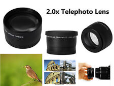 Z5u 2X TELE telephoto Teleconverter Lens for Panasonic G X VARIO PZ 45-175mm